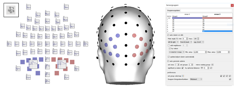 EMEGS (Qt version) Help - Sensor groups